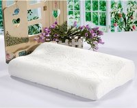 Rose Embossed Memory Foam Pillow