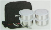 Steel Lunch Box With Plastic Lid