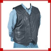 Men'S Leather Noru Vest