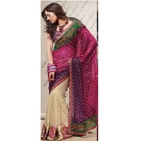 Ladies Multicolor Saree