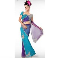 Ladies Butterfly Saree
