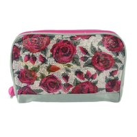 Pink Rose Flowers Print Evening Bags