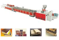Wood Plastic Profile (WPC) Extrusion Machine