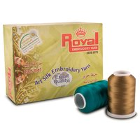 Viscose Rayon Embroidery Thread - Y- Cone