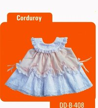 Just Born Corduroy Baby Dress