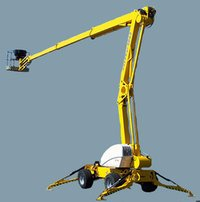 Articulated Boom Cranes Hiring
