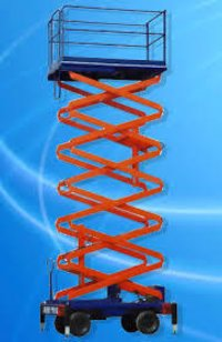 Scissor Lift On Hire Basis India
