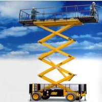 49ft Scissor Lift On Rent And Service