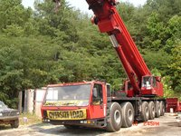 Hydraulic Crawler Mounted Telescopic