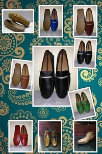 Buckle N Hide Leather Mens Shoes