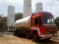 Liquid Oxygen Vacuum Insulated Tank