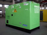 Silented Diesel Generator Sets With Canopy