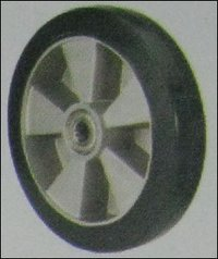 Rubber With Aluminum Center (Al-Rtg) Castor Wheel