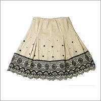 Ladies Embroidered Skirt