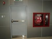 Single Proof Fire Door