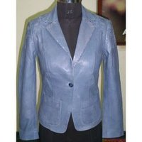 Blue Short Jacket Coat