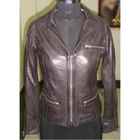Designer Ladies Leather Jackets
