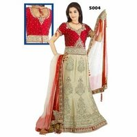 Semi Bridal Wedding Lehengas