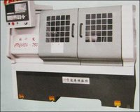 Cnc Low Cost Flat Bed Lathe Machine