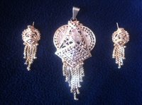 Antique Imitation Pendant Set