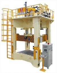 H Frame Auto Parts Moulding Press