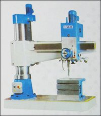 All Geared Precision Radial Drill Machine