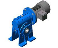 Heavy Duty Worm Geared Motor