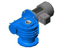 Flange Mounted Worm Geared Motor