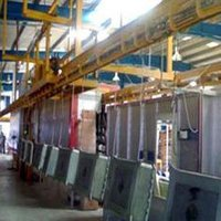 Conveyorised Powder Coating Plant (Cpcp)