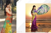 Ladies Georgette Printed Saree