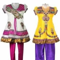 Ladies Anarkali Suit with Zari Work