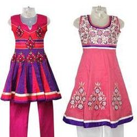 Ladies Cotton Anarkali Suit
