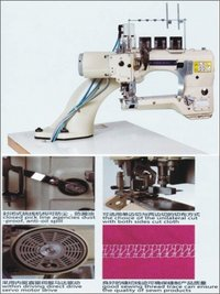 Industrial Flat Lock Direct Drive Machine