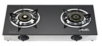 Glasstop Gas Cooker With 2 Burners