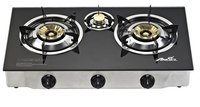Tabletop Gas Stove With 3 Burners