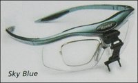 Sky Blue Frames Surgical Loupes