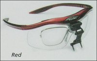 Red Frames Surgical Loupes