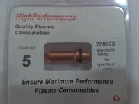 High Performance Plasma Consumables