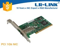 LR-LINK LREC7210PF-SFP 1000BaseFX 32bit PCI Fiber Network Interface Cards