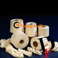 Polyester And Cotton Blend Yarn