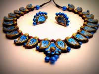 Temple Terracotta Necklace