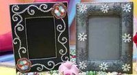 Embroidered Photo Frames