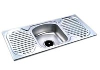 Single Sink With Double Drain Board