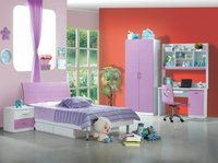 MDF Kids Bedroom Furniture Set