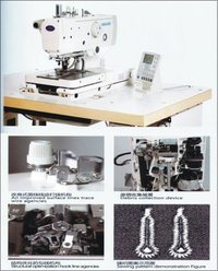 Eyelet Button Holing Machine High Speed - Hbh9820