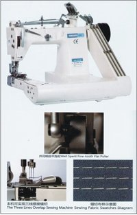3 Needle Chain Stitch Machine