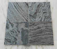 Silver Grey Slate Stone