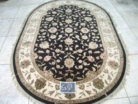 Black Ivory Rugs (6x9)