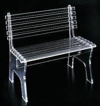 Acrylic And Modular Chair