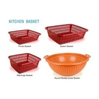 Plastic Household Kitchen Baskets